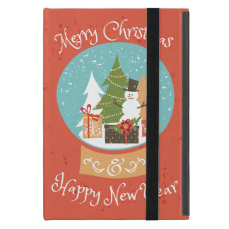 Merry Christmas Happy New Year Cover For iPad Mini