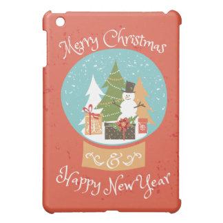 Merry Christmas Happy New Year iPad Mini Cover