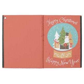 "Merry Christmas Happy New Year iPad Pro 12.9"" Case"