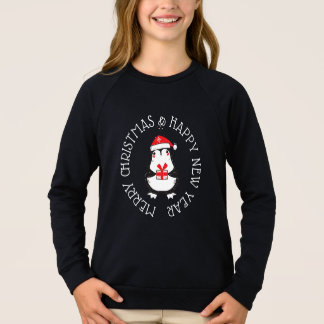 Merry Christmas & Happy New Year Penguin Shirt