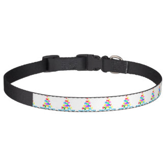 Merry Christmas Happy New Year Pet Collar