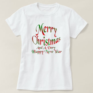 Merry Christmas Happy New Year Shirts