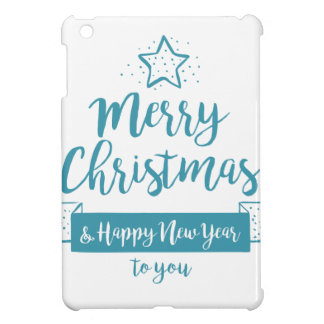 Merry Christmas & Happy New Year Simple Elegant Cover For The iPad Mini