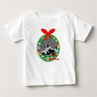 merry christmas hedgehog baby T-Shirt