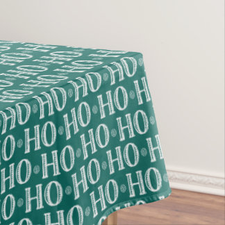 Merry Christmas Ho Ho Ho Tablecloth
