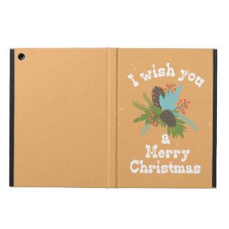 Merry Christmas Holiday Decor iPad Air Case