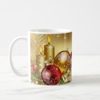 Merry Christmas holiday festive cheerful jolly mug