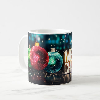 Merry Christmas holiday festive x-mas ornament mug