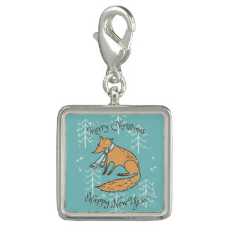 Merry Christmas Holiday Fox Cozy Charm