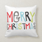 Merry Christmas | Holiday Pillow