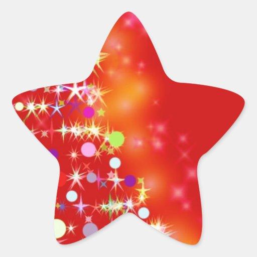 Merry Christmas  Holiday Tree Ornaments celebratio Stickers