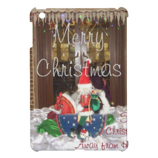 Merry Christmas holidays away from home Inspired A iPad Mini Cover