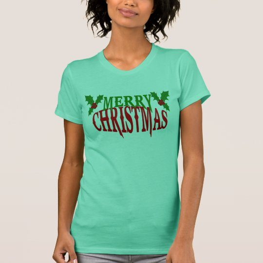 Merry Christmas Holly T-shirt
