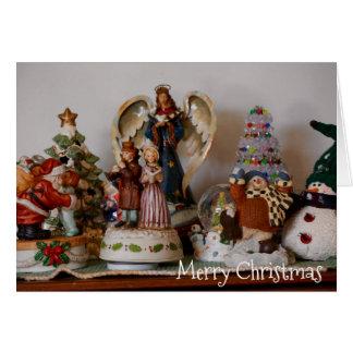 Merry Christmas Hummel Figurines Holiday Card