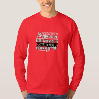Merry Christmas in German, French, and Dutch T-Shirt