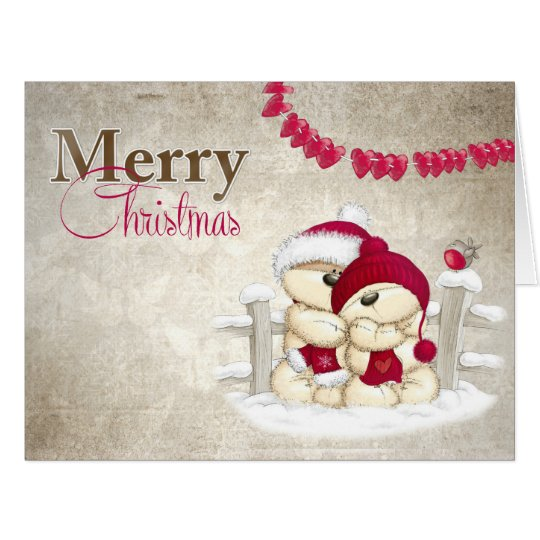 Merry Christmas in love Card
