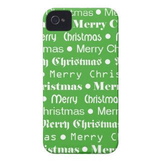 Merry Christmas iPhone 4 Cases
