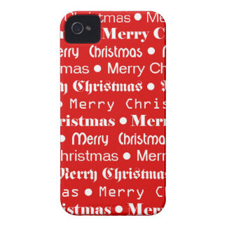 Merry Christmas iPhone 4 Covers