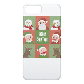 merry christmas iPhone 7 plus case