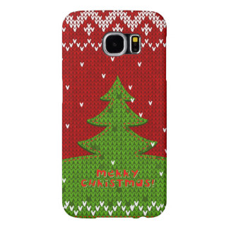 Merry Christmas iPhone Samsung Galaxy S6 Cases