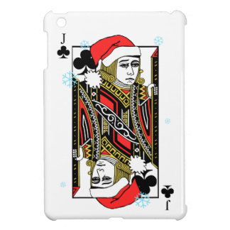 Merry Christmas Jack of Clubs iPad Mini Case