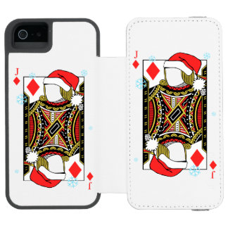 Merry Christmas Jack of Diamonds - Add Your Images Incipio Watson™ iPhone 5 Wallet Case