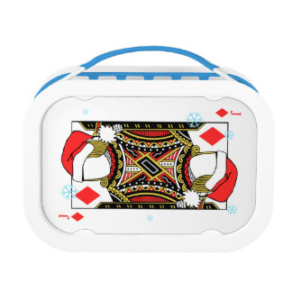 Merry Christmas Jack of Diamonds - Add Your Images Lunch Box