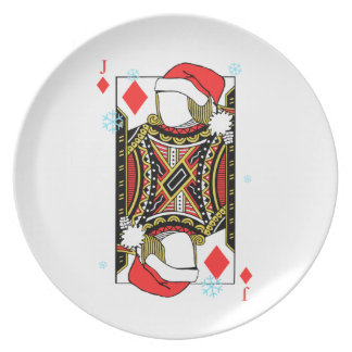 Merry Christmas Jack of Diamonds - Add Your Images Plate