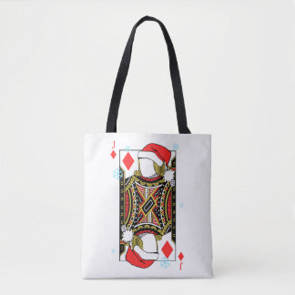 Merry Christmas Jack of Diamonds - Add Your Images Tote Bag