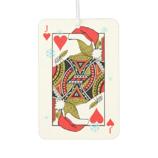 Merry Christmas Jack of Hearts - Add Your Images Air Freshener