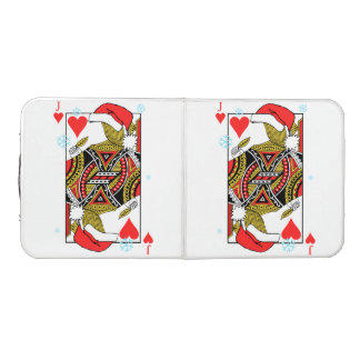 Merry Christmas Jack of Hearts - Add Your Images Beer Pong Table