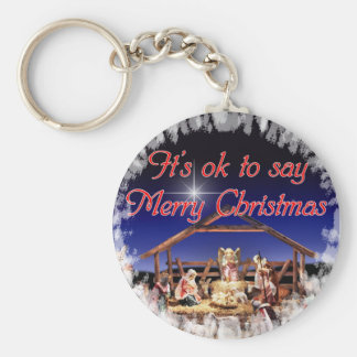 Merry Christmas Key Chain