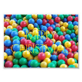 Merry Christmas Kindergarten Balls Photography Photo