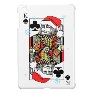 Merry Christmas King of Clubs Case For The iPad Mini
