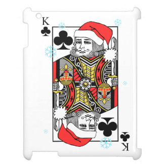 Merry Christmas King of Clubs Cover For The iPad 2 3 4