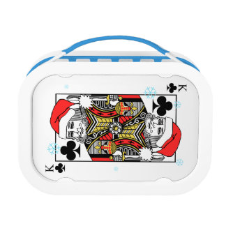 Merry Christmas King of Clubs Lunch Box