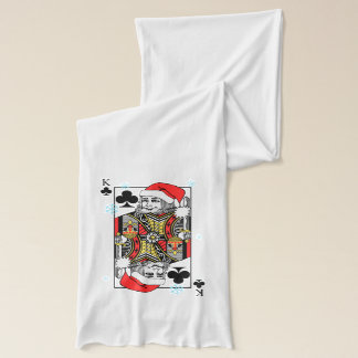 Merry Christmas King of Clubs Scarf