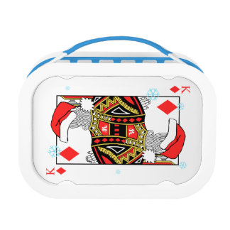 Merry Christmas King of Diamonds - Add Your Images Lunch Box