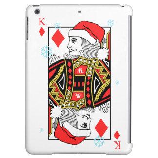 Merry Christmas King of Diamonds iPad Air Cover
