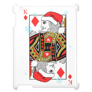Merry Christmas King of Diamonds iPad Covers