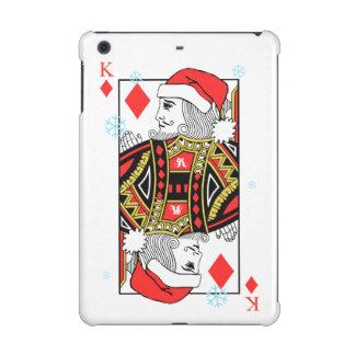 Merry Christmas King of Diamonds iPad Mini Covers