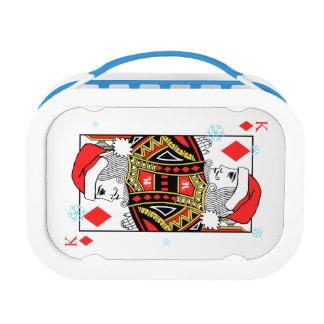 Merry Christmas King of Diamonds Lunch Box