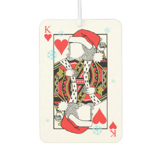 Merry Christmas King of Hearts - Add Your Images Air Freshener