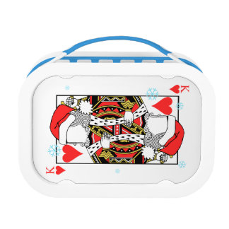 Merry Christmas King of Hearts - Add Your Images Lunch Box