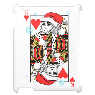 Merry Christmas King of Hearts Case For The iPad 2 3 4