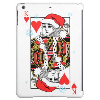 Merry Christmas King of Hearts iPad Air Cover