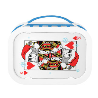 Merry Christmas King of Hearts Lunch Box
