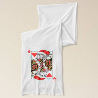 Merry Christmas King of Hearts Scarf