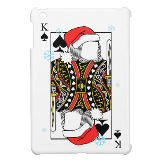 Merry Christmas King of Spades - Add Your Images Case For The iPad Mini
