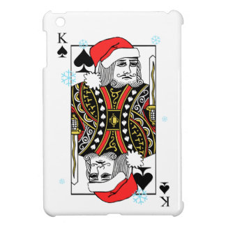Merry Christmas King of Spades Case For The iPad Mini